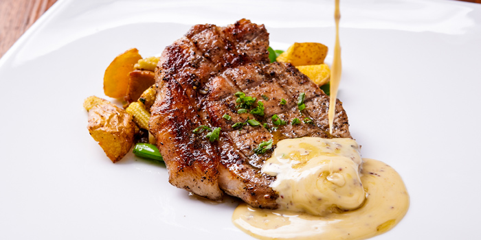 Rib-eye Steak from Jann Bistro @ Asoke, 24 Sukhumvit 21, Klongtoey Wattana, Bangkok