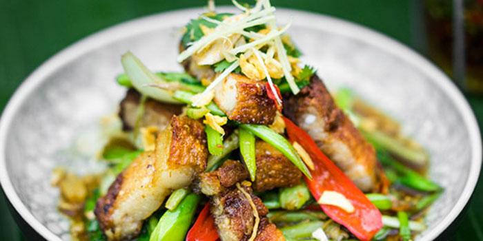 Crispy Salted Pork of Som Chai Bali