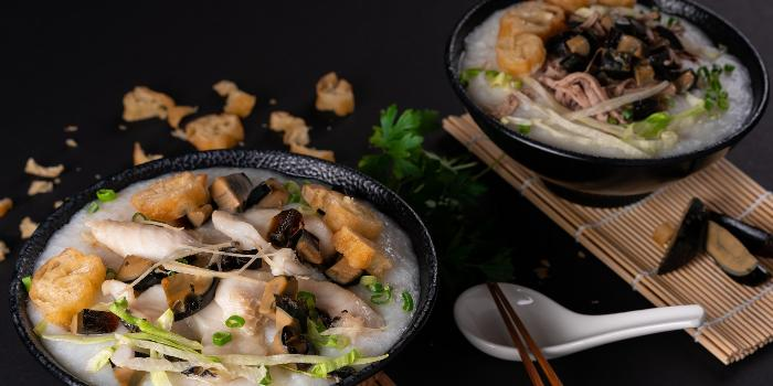 Century Egg & Sliced Fish Congee from Kuvo in Orchard, Singapore