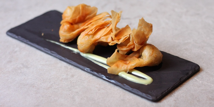Crispy Shrimp Wanton from Kuvo in Orchard, Singapore