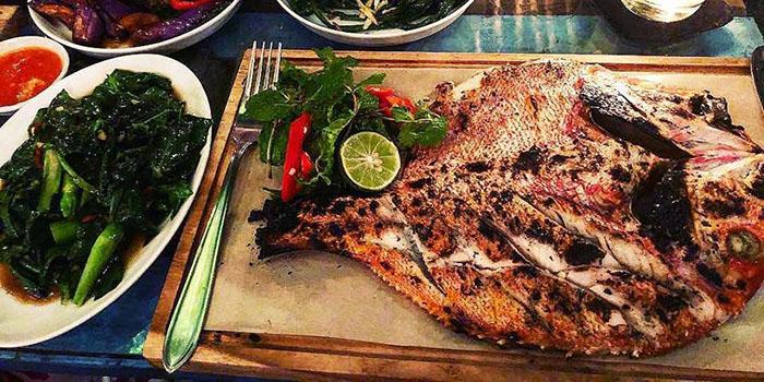 Seafood Menu from MyWarung Petitenget at Seminyak, Bali