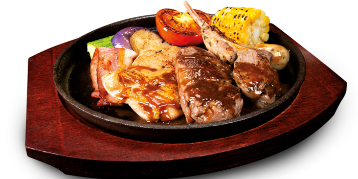Mixed Grill, Mall Café, Tsim Sha Tsui, Hong Kong