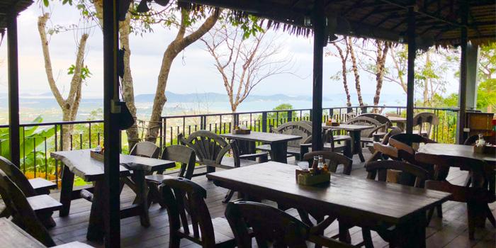 Surrounding of Mountain Breeze Bar & Restaurant & Bar in Chalong, Phuket, Thailand
