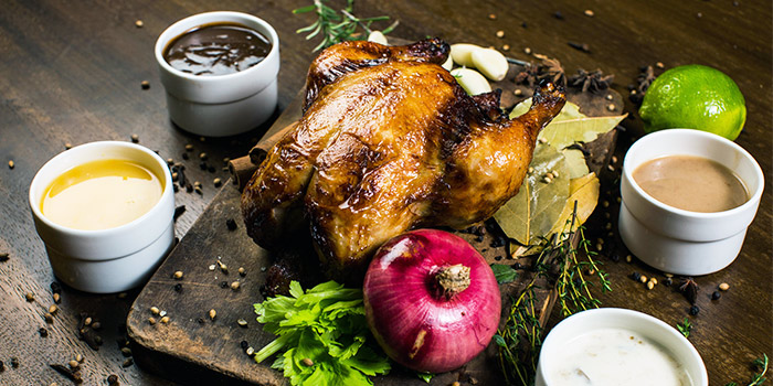 Roast Chicken from Al Capone's Sports Bar + Dining at Kallang Wave Mall in Kallang, Singapore