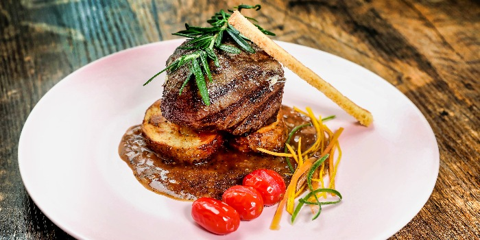 Char-grilled Beef Tenderloin from Cuba Libre Cafe & Bar (Frasers Tower) in Tanjong Pagar, Singapore