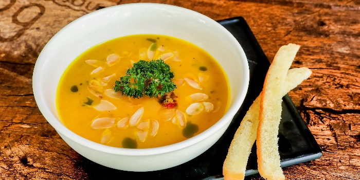 Roasted Butternut Squash Soup from Cuba Libre Cafe & Bar (Frasers Tower) in Tanjong Pagar, Singapore