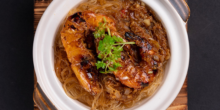 Stewed Prawn with Glass Noodle in XO Sauce from Kuvo in Orchard, Singapore