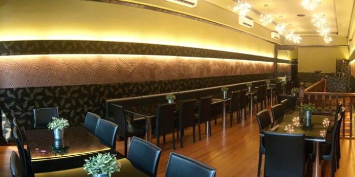Second Floor Interior of Tulasi Vegetarian Restaurant & Cafe in Little India, Singapore