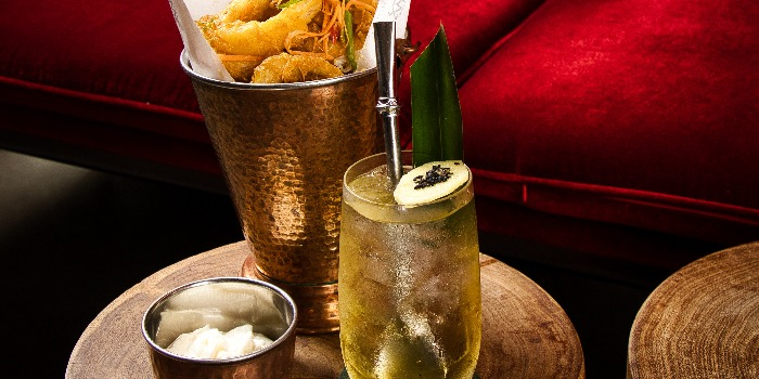 Tang Yuan Mule and Golden Squid from Court Martial Bar in JW Marriott Hotel Singapore South Beach in City Hall, Singapore
