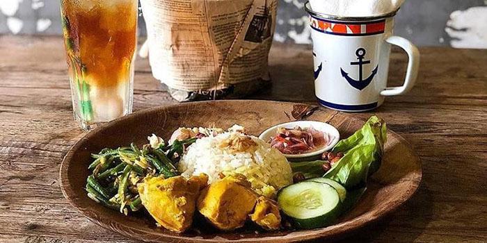 Food Menu from MyWarung Canggu at Canggu, Bali