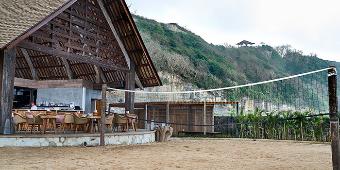 Volleyball from Roosterfish Beach Club at Uluwatu, Bali