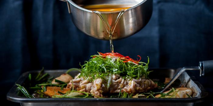 Steamed Fish from TAAN Bangkok at Siam@Siam Design Hotel Bangkok 865 Rama 1 Road Wang Mai, Patumwan Bangkok