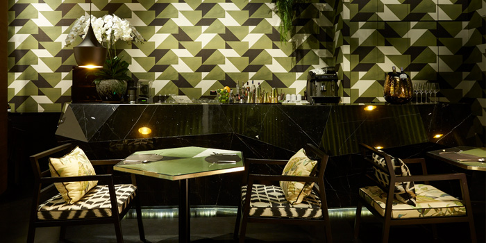 Dining Area from Bombyx by Jim Thompson  at Siam Paragon, Bangkok