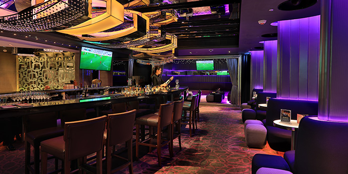 Dining Area, Room One – Sports Bar, Tsim Sha Tsui, Hong Kong