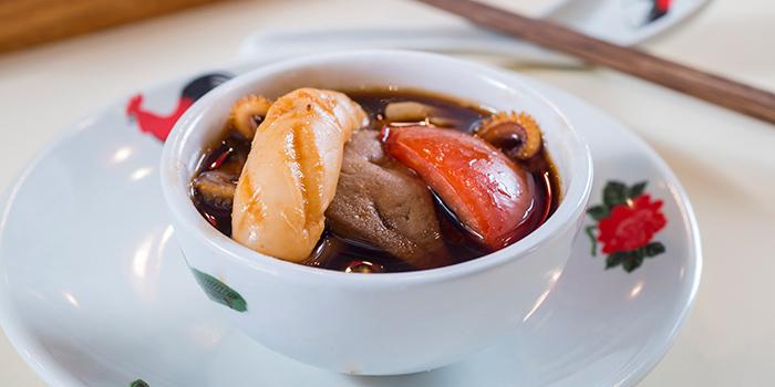 Double-Boiled Black Chicken Soup with Fish Maw & Abalone, A Fat Hotpot, Tsim Sha Tsui, Hong Kong