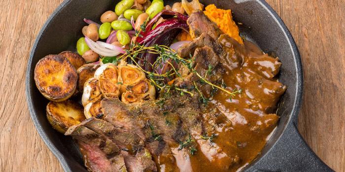 Grilled Deer with Basil and Garlic from Mallard at 16 Soi Sukhumvit 49 Khlong Tan Nuea, Watthana Bangkok