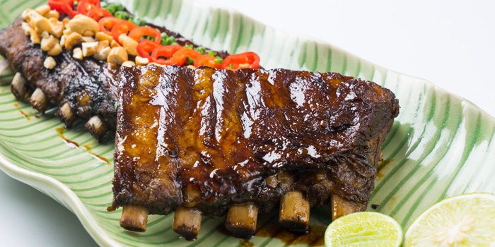 Grilled Kurobuta Pork Rib from Patara fine Thai cuisine at 375 Thonglor Soi19 Sukhumvit Soi55 Khlong Tan Nuea Bangkok