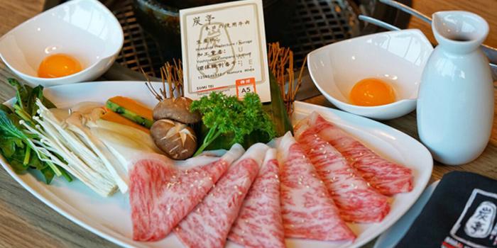 Imperial Wagyu Suki Set from Sumi Tei Yakiniku Restaurant at J avenue, Thonglor 13 Sukhumvit 55, Wattana Bangkok
