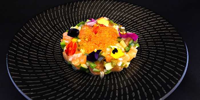Salmon Tartare from FrapasBar by Saveur in Tampines, Singapore
