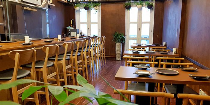 Level 2 Dining Area of Ichida Japanese Dining in Club Street, Singapore