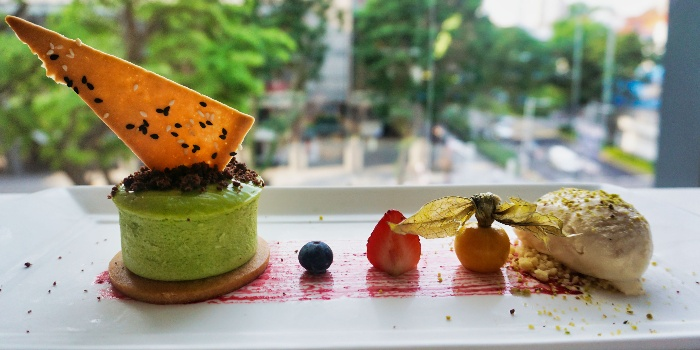 Matcha Cheesecake from Lawry