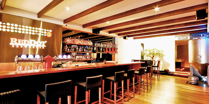 Interior of RedDot BrewHouse @ Boat Quay in Boat Quay, Singapore