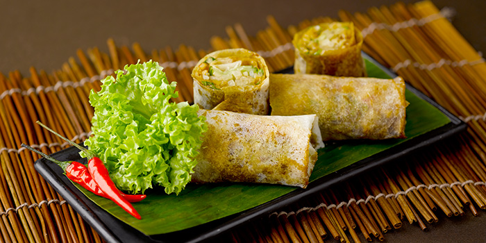 Lumpia Semarang from Rumah Rasa at The Bay Hotel in Telok Blangah, Singapore