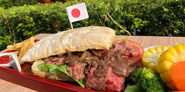 Beef Steak Sandwich from Ryu