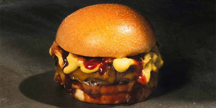Da Cheese Master Burger from Three Buns Quayside in Robertson Quay, Singapore
