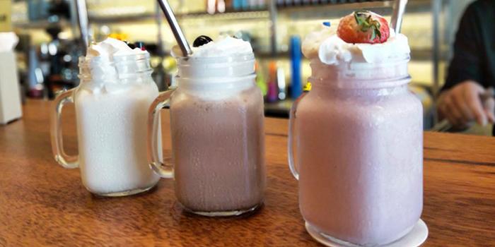 Milkshake from Three Buns Quayside in Robertson Quay, Singapore