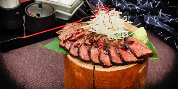 Aburi Wagyu Tataki from Unagiya Ichinoji Dining (Suntec City) at Suntec City Mall in Promenade, Singapore
