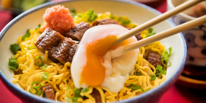 Unagi Ramen with Egg from Unagiya Ichinoji Dining (Suntec City) at Suntec City Mall in Promenade, Singapore