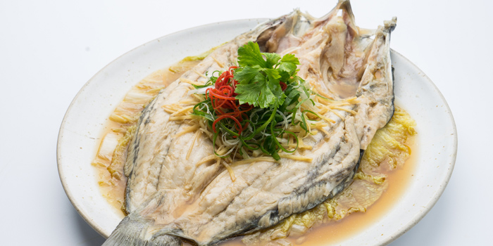 Steamed Sea Bass from Patara fine Thai cuisine at 375 Thonglor Soi19 Sukhumvit Soi55 Khlong Tan Nuea Bangkok