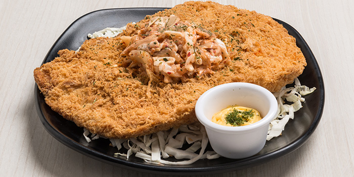 XXL Chicken Cutlet from Bonchon (Boat Quay) in Boat Quay, Singapore