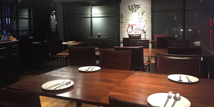 The Dining Room of Lerdtip Thonglor by Chef Gigg at 85 Sukhumvit Rd., Khlong Tan Nuea Watthana, Bangkok