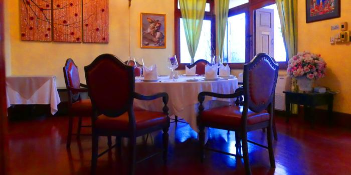 Dining Area of Aubergine at 71/1 Saladaeng 1/1, Saladaeng Rd Silom, Bangrak Bangkok