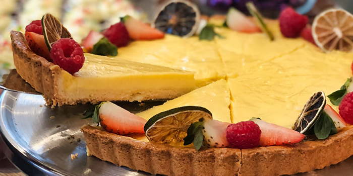 Lemon Tart from Food Exchange at Novotel Singapore on Stevens in Tanglin, Singapore