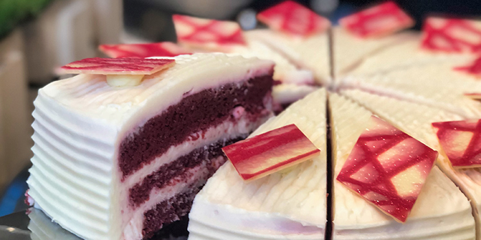 Red Velvet Cake from Food Exchange at Novotel Singapore on Stevens in Tanglin, Singapore