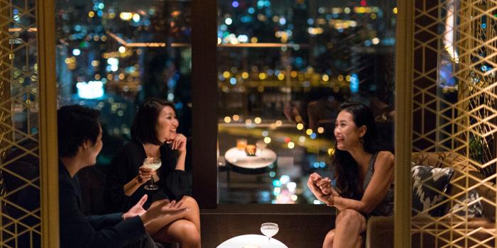Private Corner from The Penthouse Grill at Park Hyatt Bangkok, Bangkok