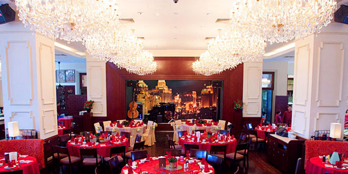 Interior of Grand Shanghai at King