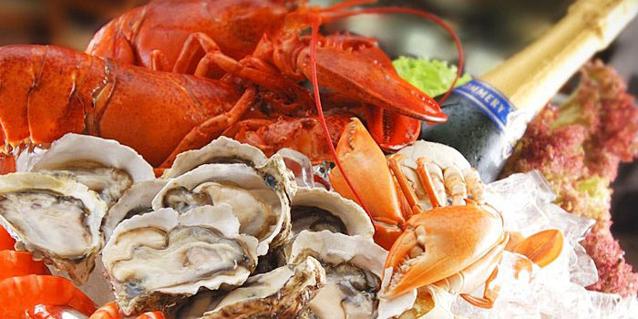 Seafood at Orchard Cafe in Orchard Hotel Singapore